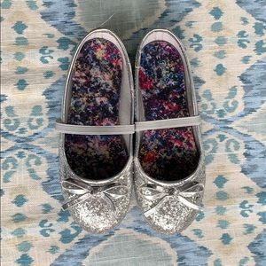 Faded Glory Girls Sparkle Ballet Flats